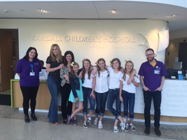 Stephanie Millman and the girls 04 08 16 (1)