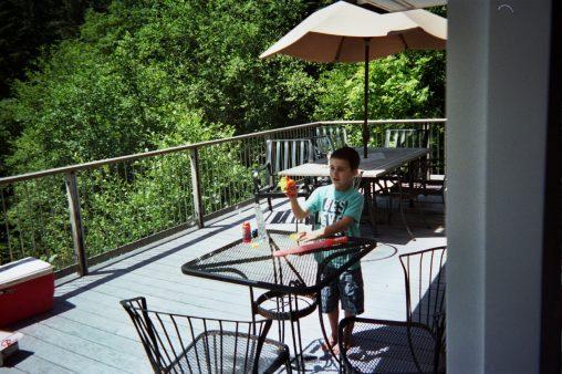 Caring Cabin - Old Deck Furniture