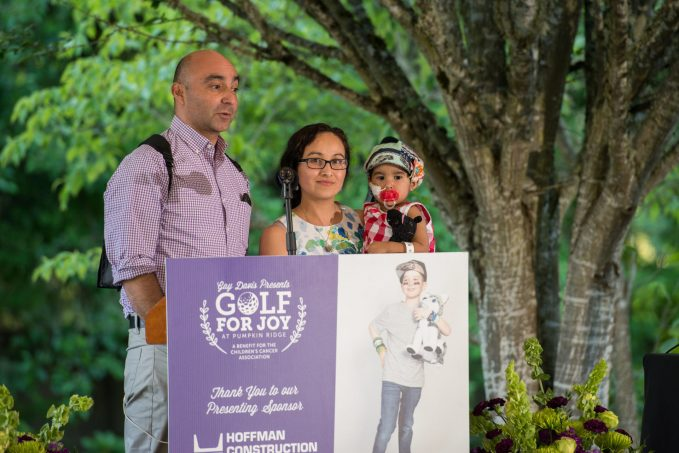 Golf for Joy - Guest Speaker Andy, Ruth and Sol