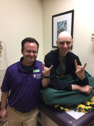 Dustin and Liam Chemo Pals