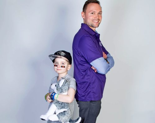 CCA Hero Bastian and Chemo Pal Justin