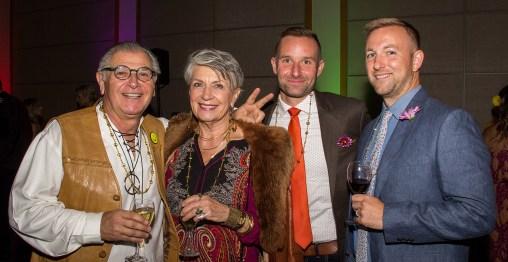 Albert and Julie Menashe, Grant Feltz and John Christianson