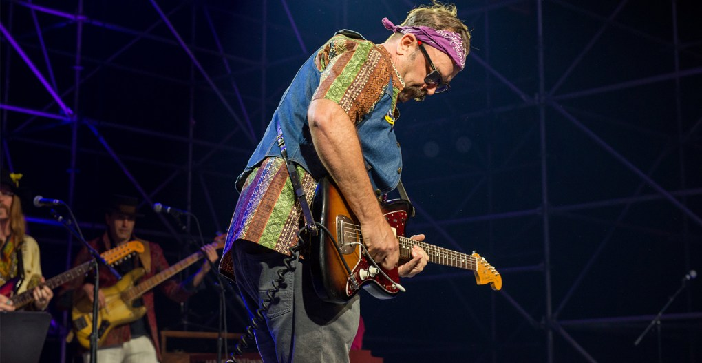 Wonderball - Chris Funk on Stage