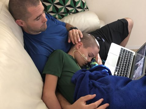 Elijah in treatment