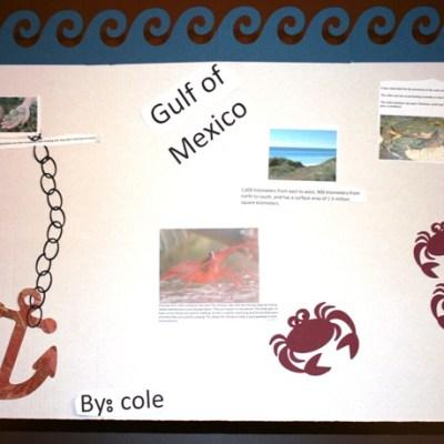 "Me & SuperKid 3 – Cricut ""Gulf"" School Poster"