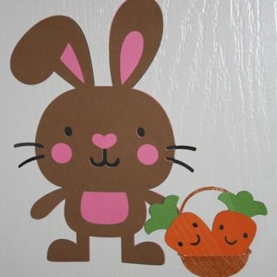 Create A Critter – Rabbit & Carrots