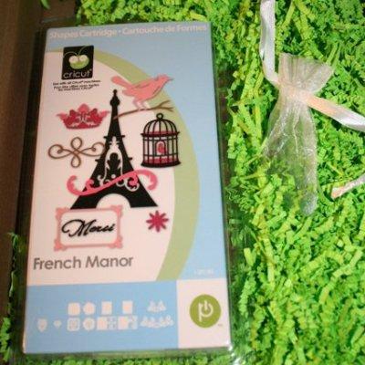 Cricut Circle French Manor & My Box