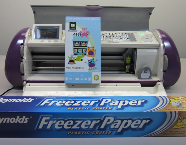 Cricut Layered Freezer Paper T Shirt Stencil Mini Monsters