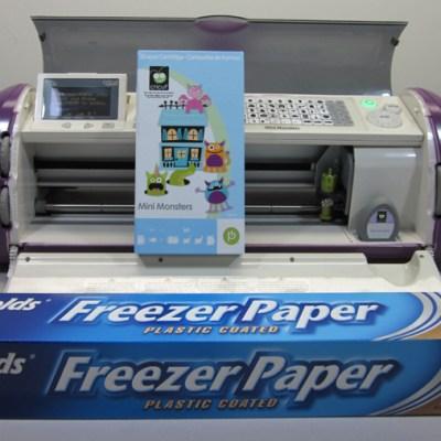 Cricut Layered Freezer Paper T-Shirt Stencil Mini Monsters