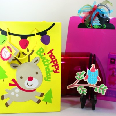 Cricut Holiday Birthday Teacher Gift Bag 12 Days of Christmas DAY TEN GIVE AWAY