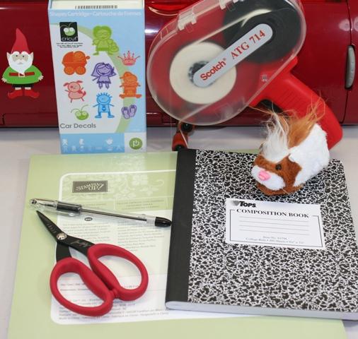 Cricut Bug Head Notebook 12 Days Of Christmas Day Seven