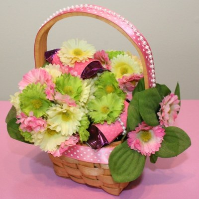 Easter Basket Blog Hop – Floral Easter Eggs and Basket