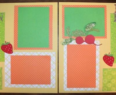 Joy's 1st Scrapbook Layout EVER – Cricut Country Life