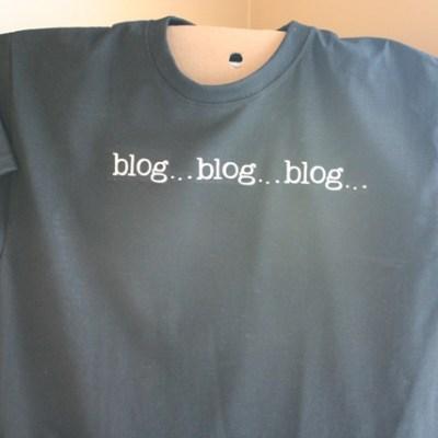 blog blog blog shirt