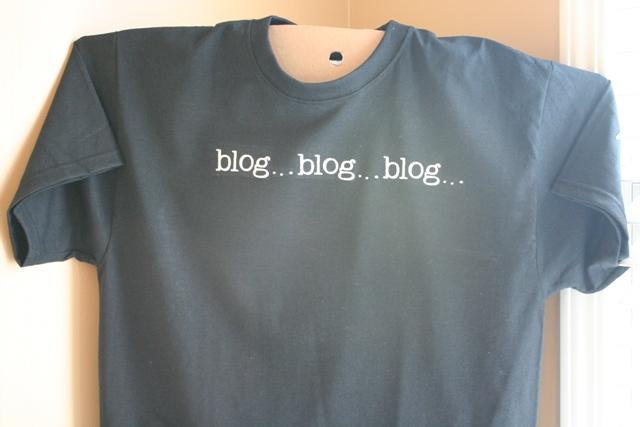 Heat Transfer Vinyl Blog Blog Blog T Shirt - Cricut