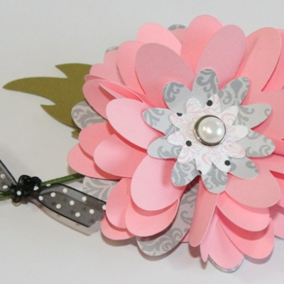 How to Make a Paper Flower Bouquet with Measurements
