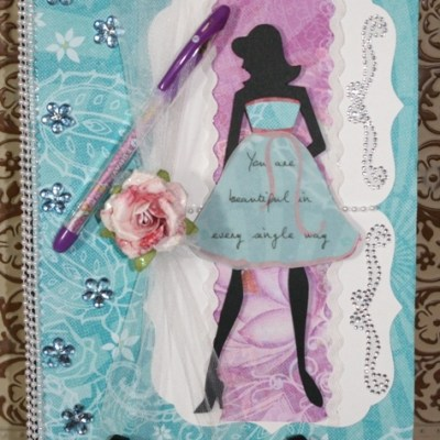Altered Composition Book Blog Hop