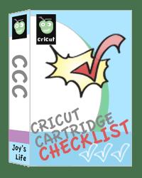 Cricut Cartridge Checklist UPDATED & Discontinued Cricut Cartridges List UPDATED