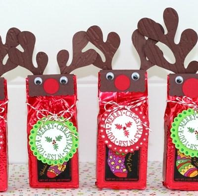 Reindeer Coffee Gift & Give Away