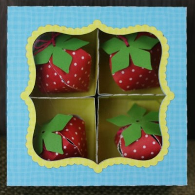 Silhouette Cameo 3D Strawberry Box – Lori Whitlock