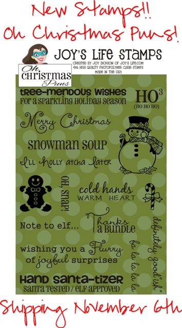 Christmas Puns.New Oh Christmas Puns Stamps Just Announced Joy S Life