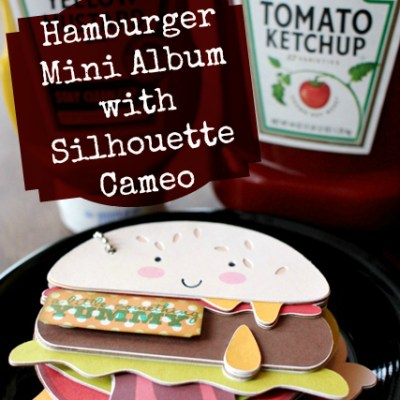 Hamburger Family Mini Album – Mini Book Blog Hop