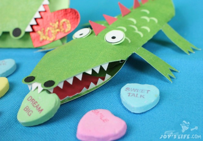 Don't eat my candy, croc!