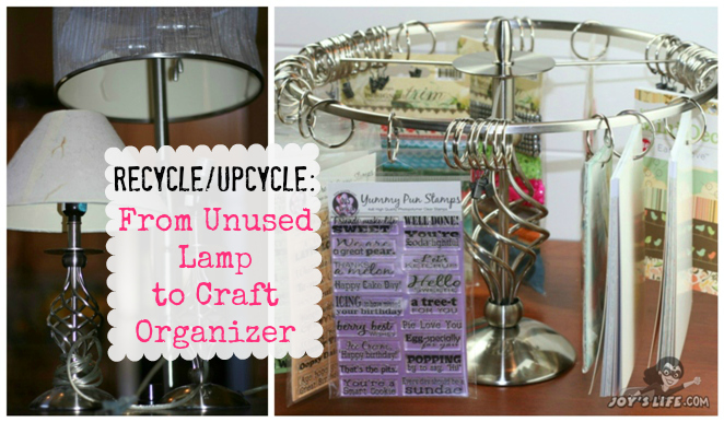 Ugly broken lamps get a new life at www.joyslife.com