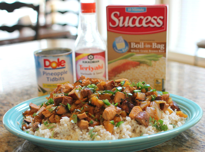 Chicken Teriyaki Success Rice Bowls at www.joyslife.com