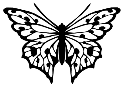 Free Butterfly Printable Amp How To Use With Silhouette
