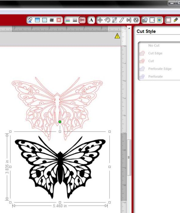 Number Names Worksheets butterfly trace : Free Butterfly Printable & How to Use with Silhouette Software ...