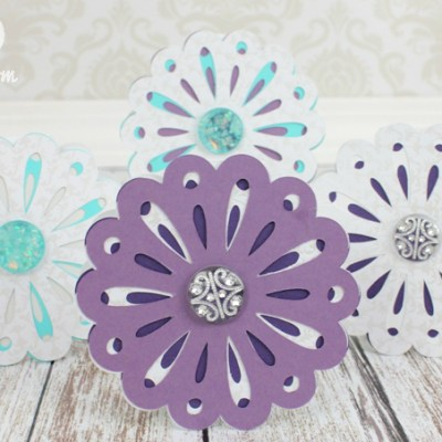 52: Episode 10: Quick Flower Card using Cricut Art Philosophy