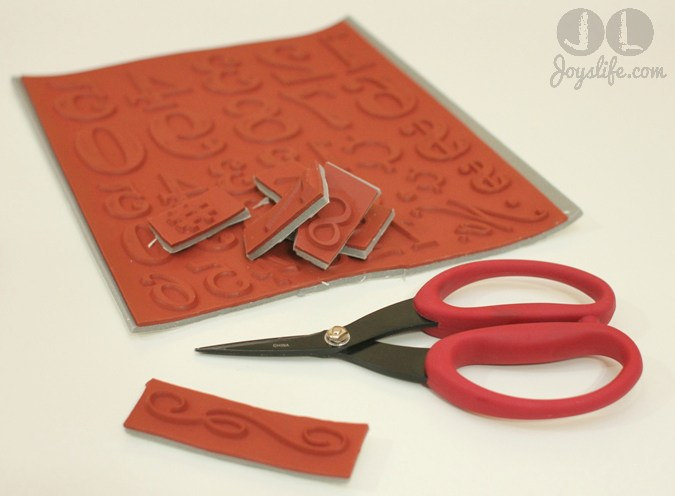 How to Mount Rubber Stamps for Use with Acrylic Blocks #RubberStamping #stamping