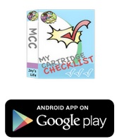 My Cartridge Checklist App #Cricut #CartridgeChecklist #App #Joyslife