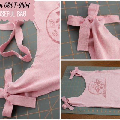 Upcycle an Old T-Shirt Into a Useful Bag