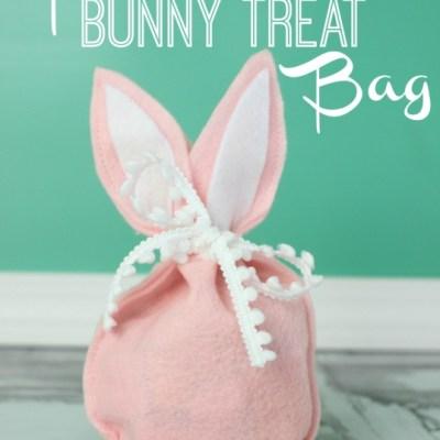 Felt Bunny Treat Bag