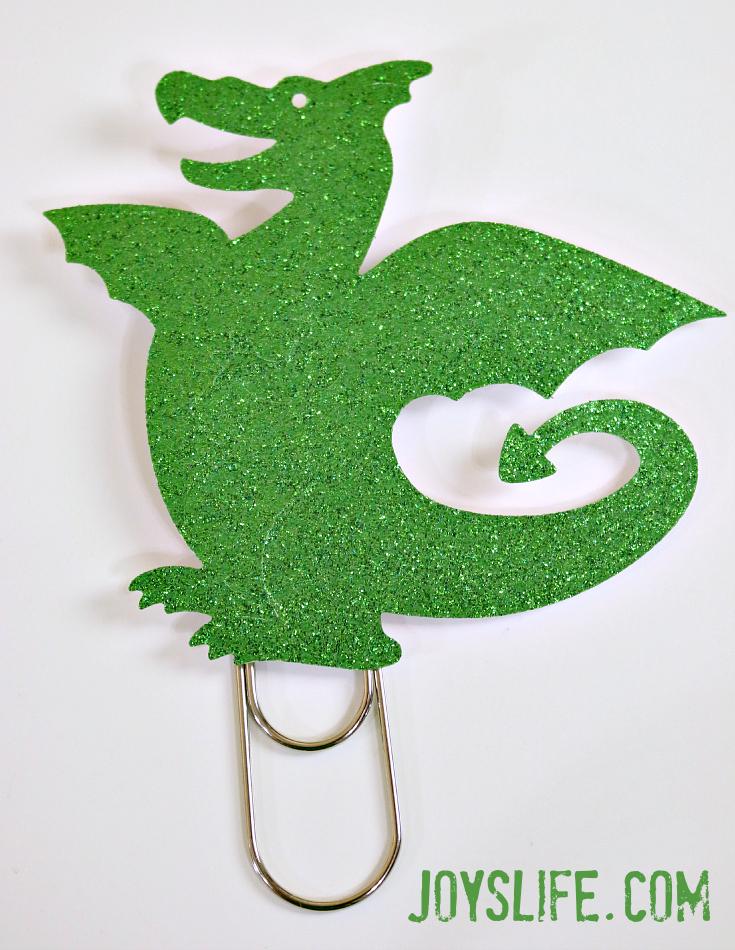 Dragon Bookmark paperclip #dragon #metaldie