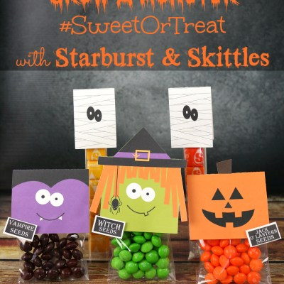Grow a Monster Halloween Treats with Starburst & Skittles