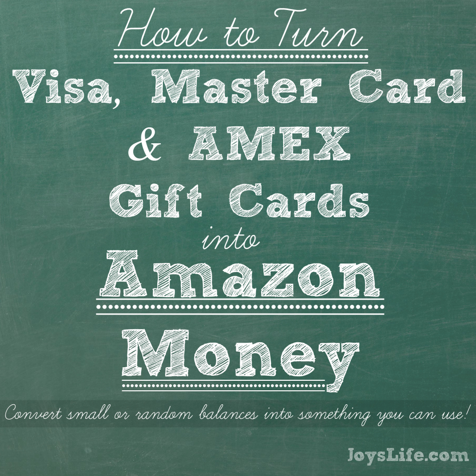 How to Turn Gift Cards into Amazon Money