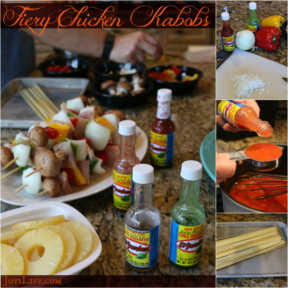 Fiery Chicken Kabobs and more Great Grill Recipes for Your Summer Celebrations #KingOfFlavor #Ad