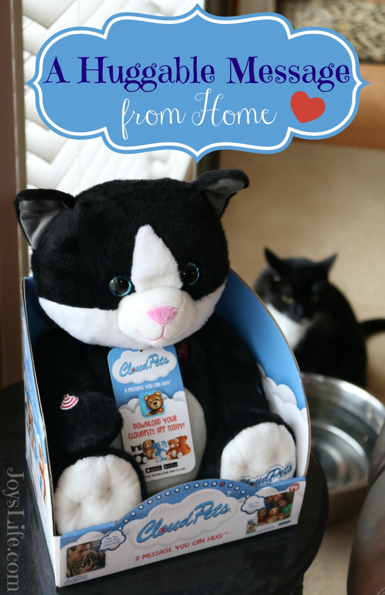 A Huggable Message from Home #CloudPetsForever #Ad