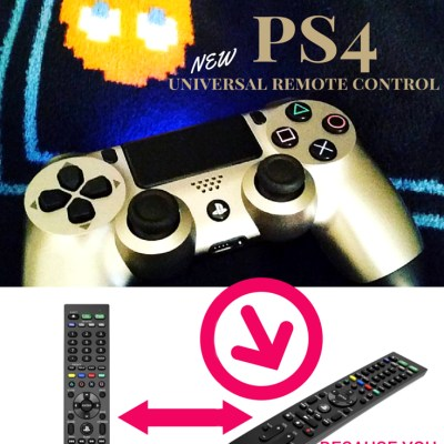 Playstation4 Must Have – The New PS4 Universal Remote Control