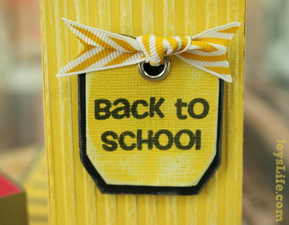 Back to School 3D Pencil & Card #SilhouetteCameo #3D #Coredinations