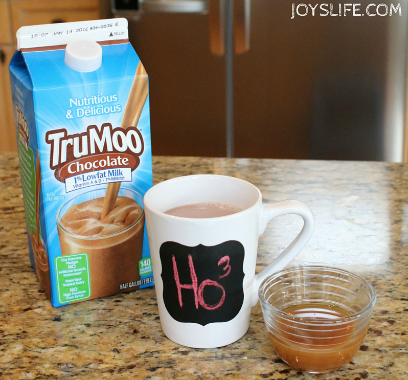 TruMoo Caramel Hot Chocolate & How to Make Hand Warmers