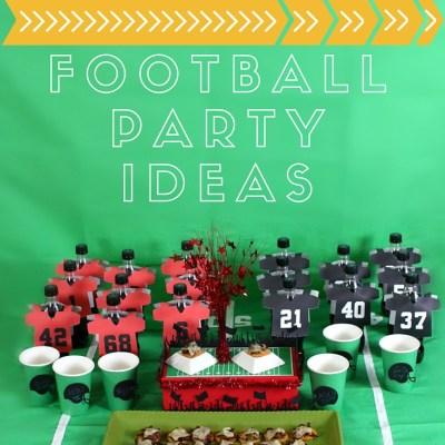 Fun & Easy Football Party Ideas