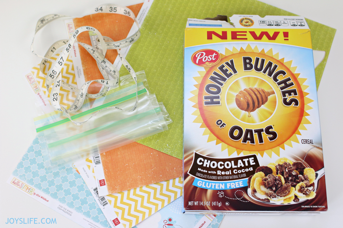 How to Create Bag Toppers using Cereal Boxes | Joy's Life