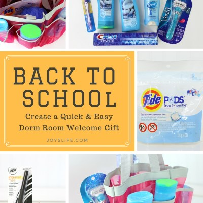 Create a Quick & Easy Dorm Room Welcome Gift