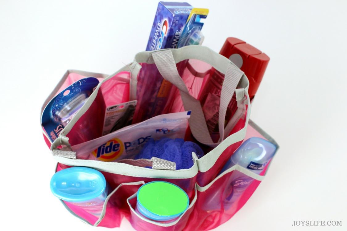 Shower Caddy dorm room essentials