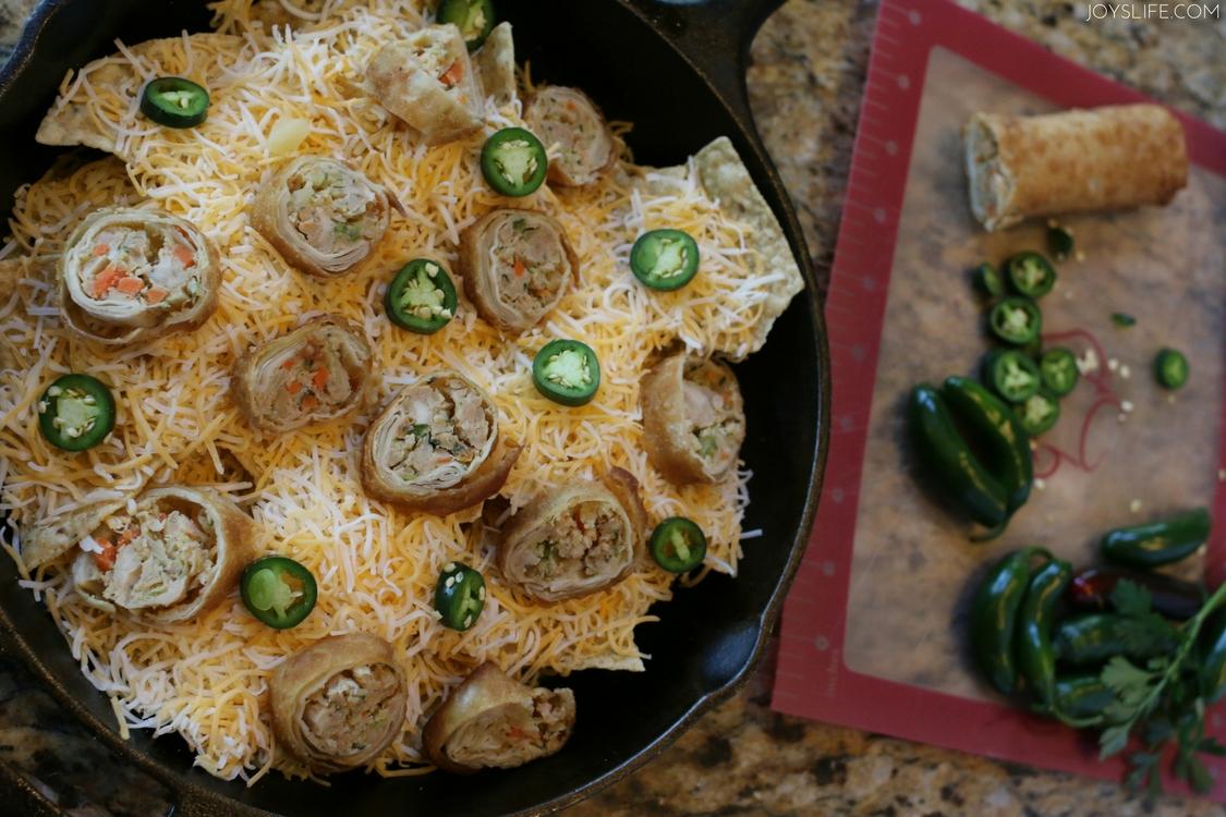nacho eggroll jalapeno