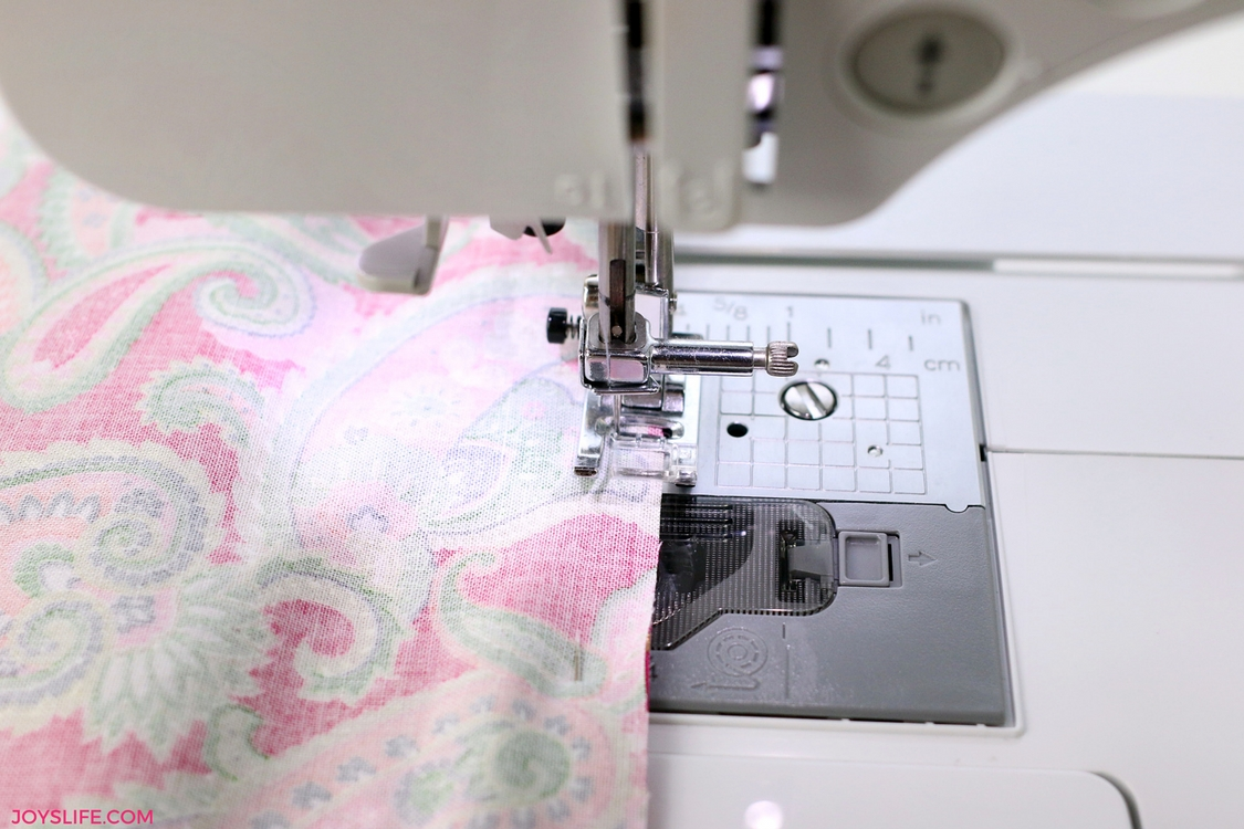 sewing edge paisley